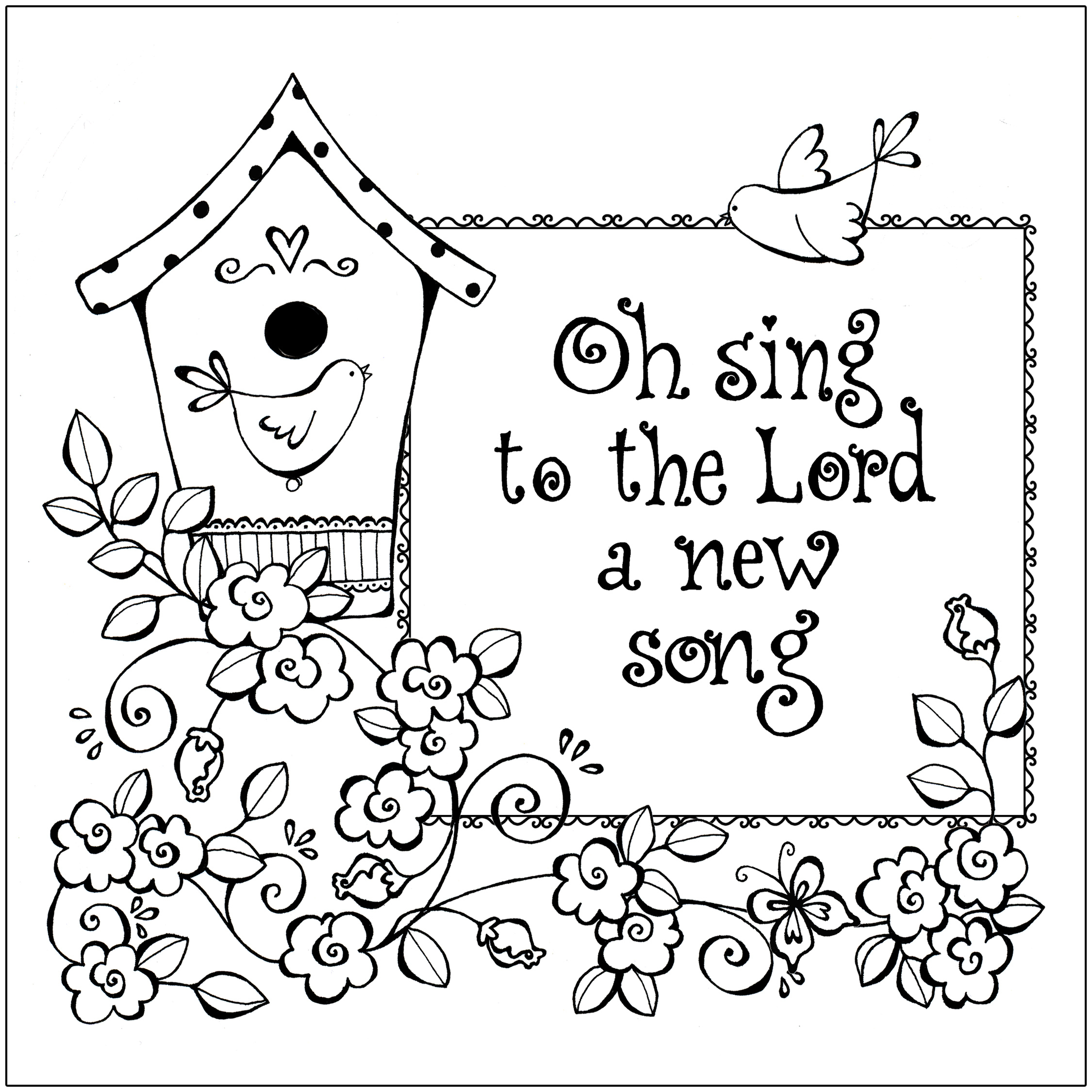 Free Printable Christian Coloring Pages For Kids - Best Coloring - Free Printable Sunday School Coloring Pages