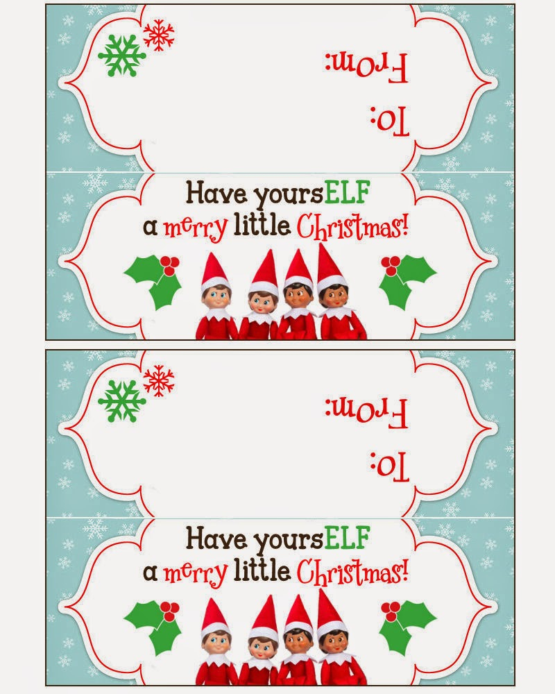 Free Printable Christmas Bag Toppers Templates – Festival Collections - Free Printable Christmas Bag Toppers Templates