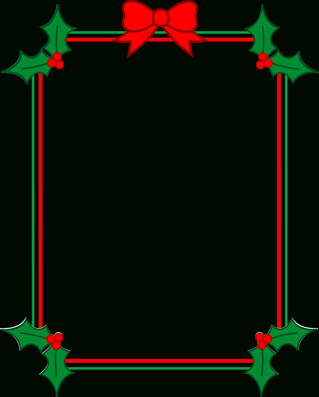 Free Printable Christmas Banner Borders - Rr Collections - Free Printable Christmas Frames And Borders