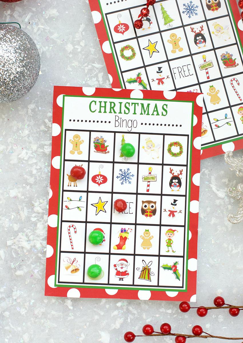 Free Printable Christmas Bingo Game – Fun-Squared - Free Printable Religious Christmas Games