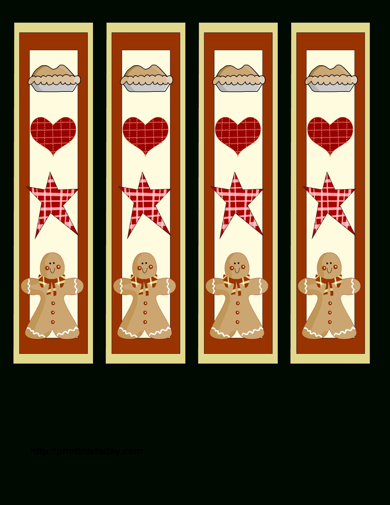 Free Printable Christmas Bookmarks | Print This Today | Better To - Free Printable Bookmarks For Christmas