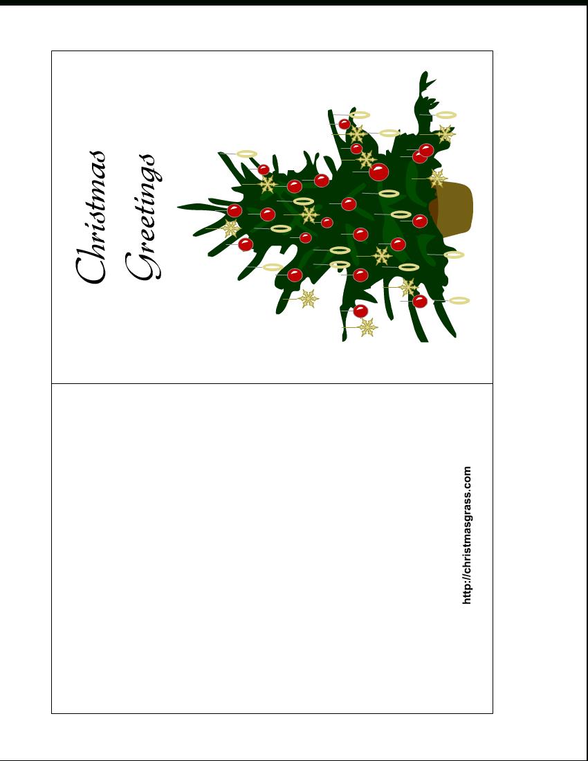 Free Printable Christmas Cards   Holiday Greeting Card With - Free Printable Happy Holidays Greeting Cards
