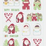 Free Printable Christmas Gift Tags | Dinky Cow – Free Printable   Free Printable Holiday Gift Labels