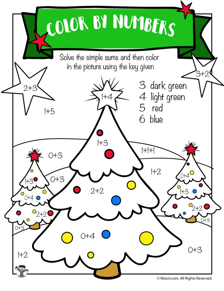 Free Printable Christmas Worksheets For Third Grade