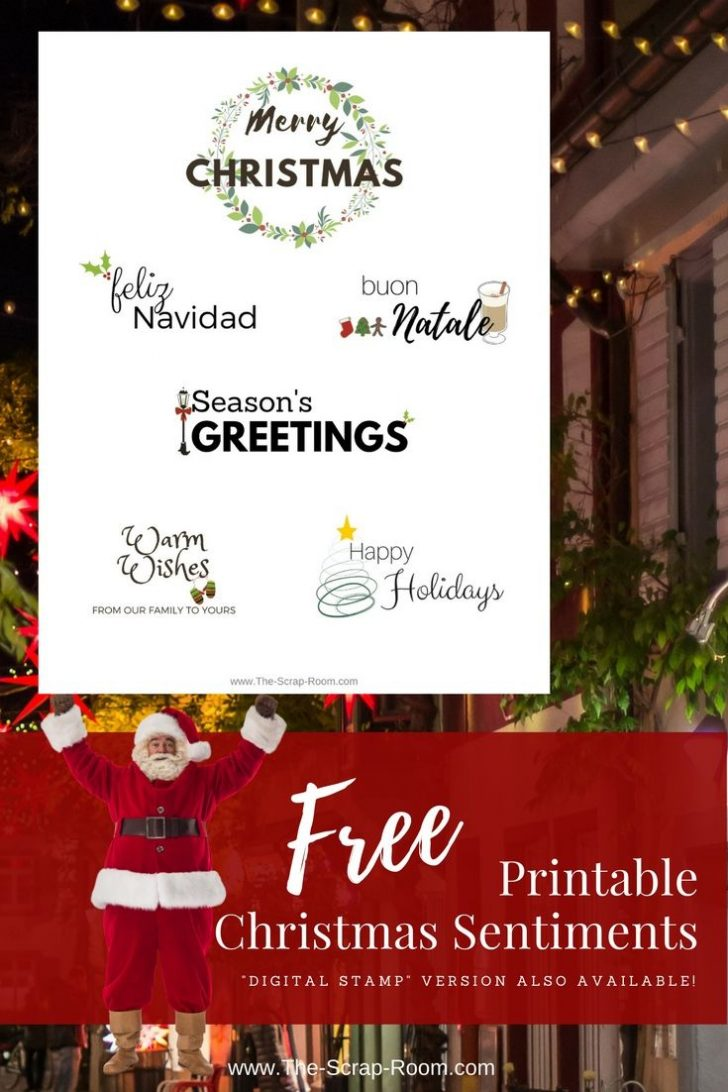Create Your Own Free Printable Christmas Cards