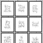 Free Printable Christmas Signs | Noël, Joyeux Noël Et Joyeux   Free Printable Signs