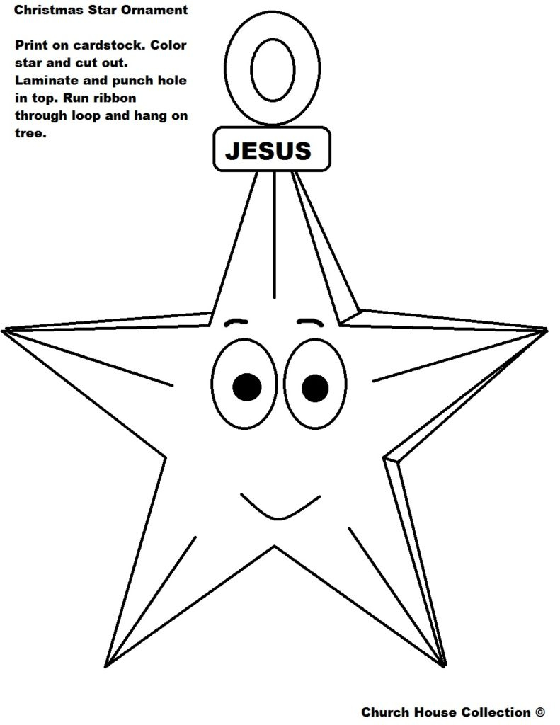 Free Printable Christmas Star Coloring Pages - Free Coloring Page - Free Printable Christmas Star Coloring Pages