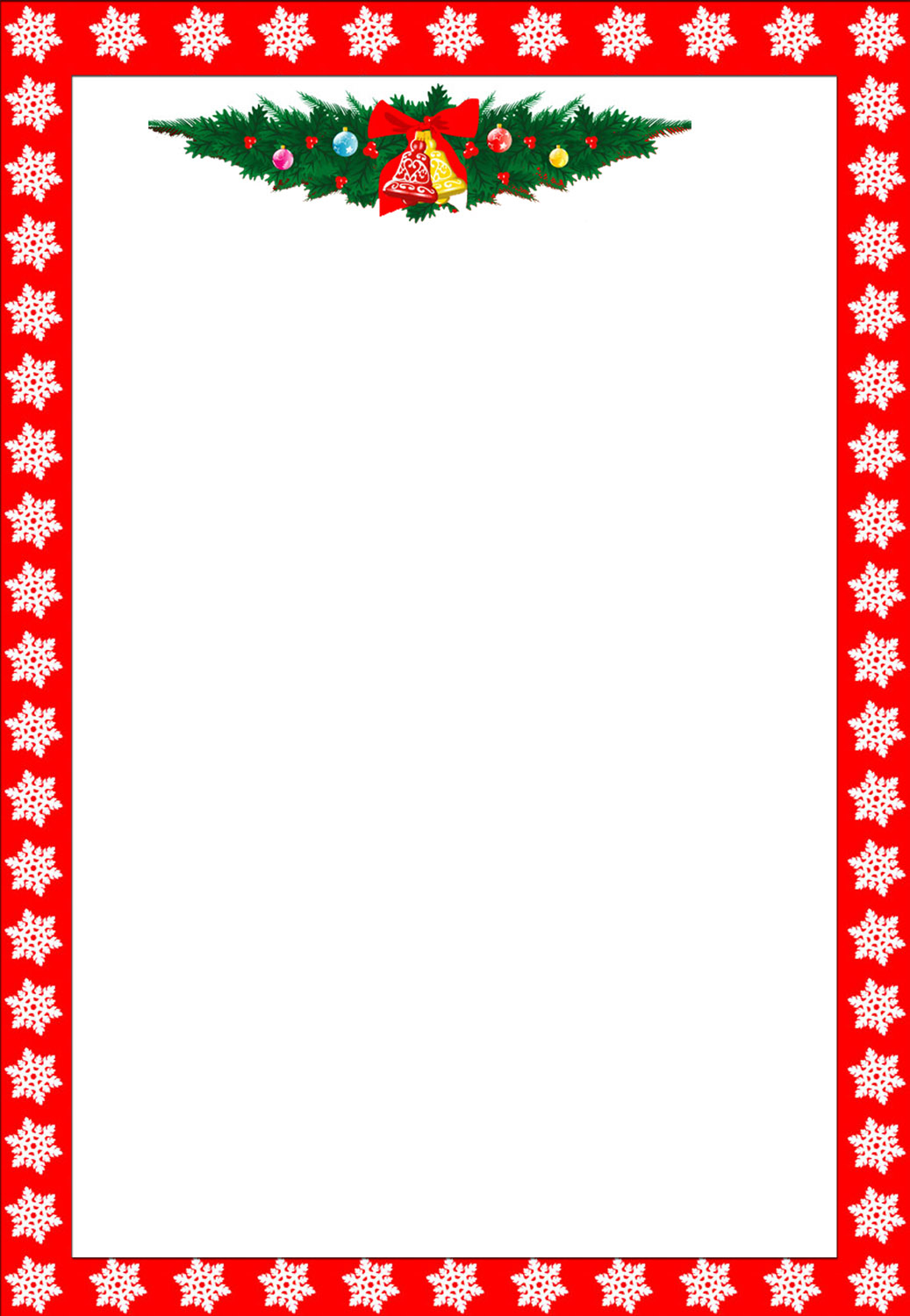 Free Printable Christmas Stationary Borders Trials Ireland - Free Printable Letterhead Borders