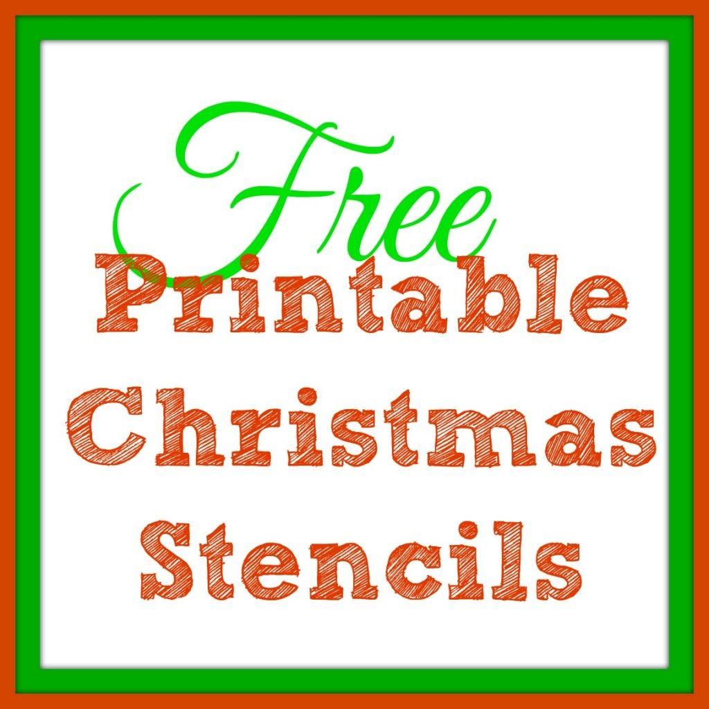 Free Printable Christmas Stencils – Christmas Tree Templates & Santa - Free Printable Christmas Ornaments Stencils