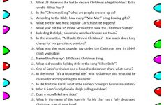 Free Printable Christmas Trivia Questions | Party Ideas | Pinterest – Holiday Office Party Games Free Printable