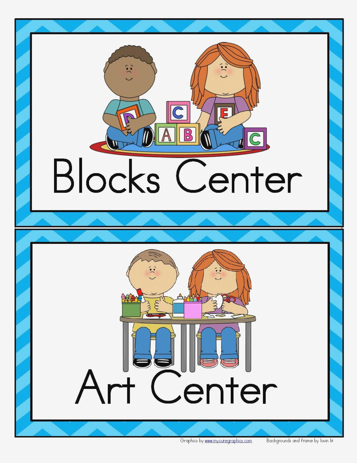 Free Printable Classroom Labels For Preschoolers 14 Of Template For - Free Printable Center Signs For Pre K