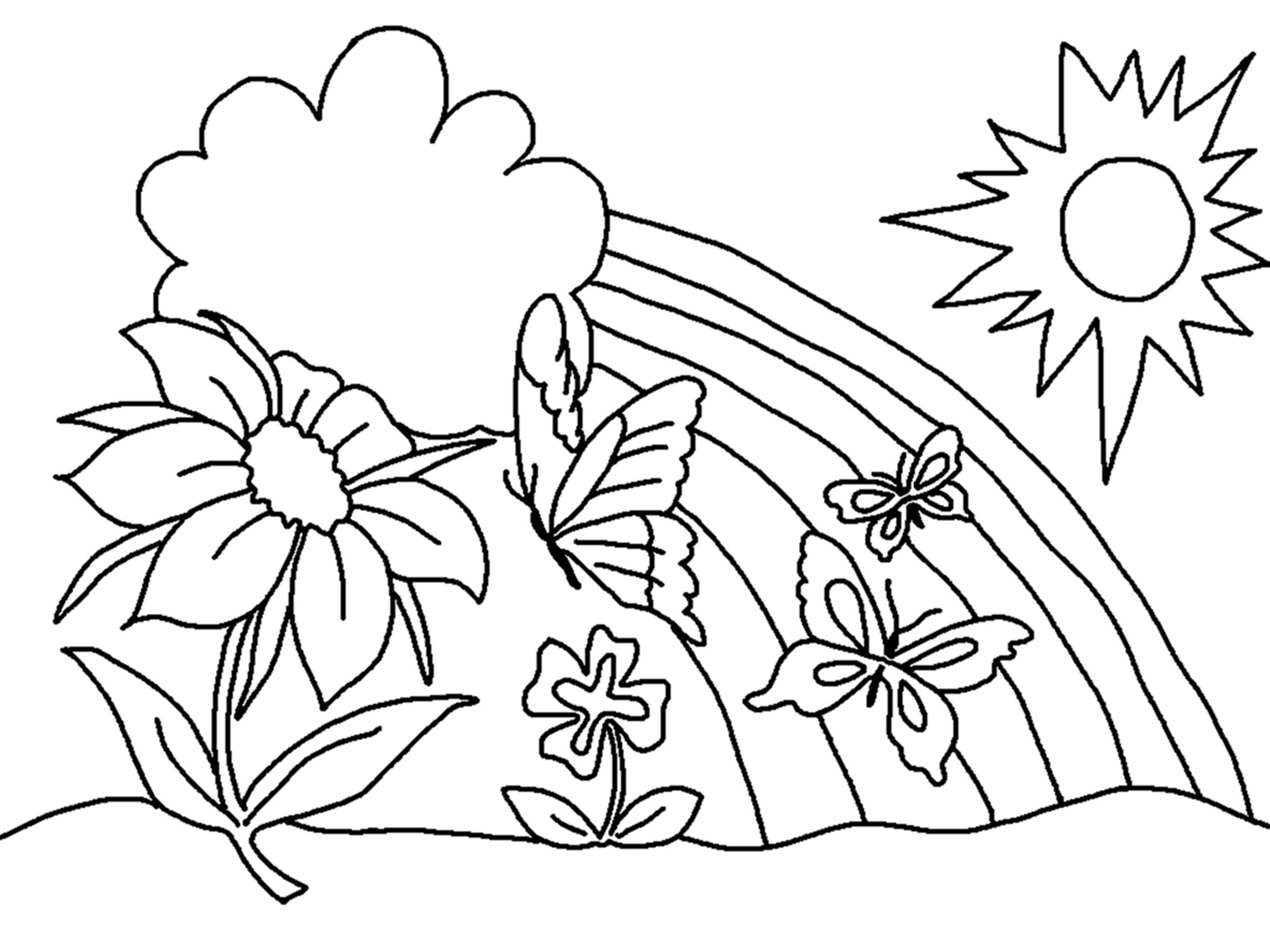 Free Printable Coloring Pages For Preschoolers – With Girls Also - Free Printable Coloring Pages For Preschoolers