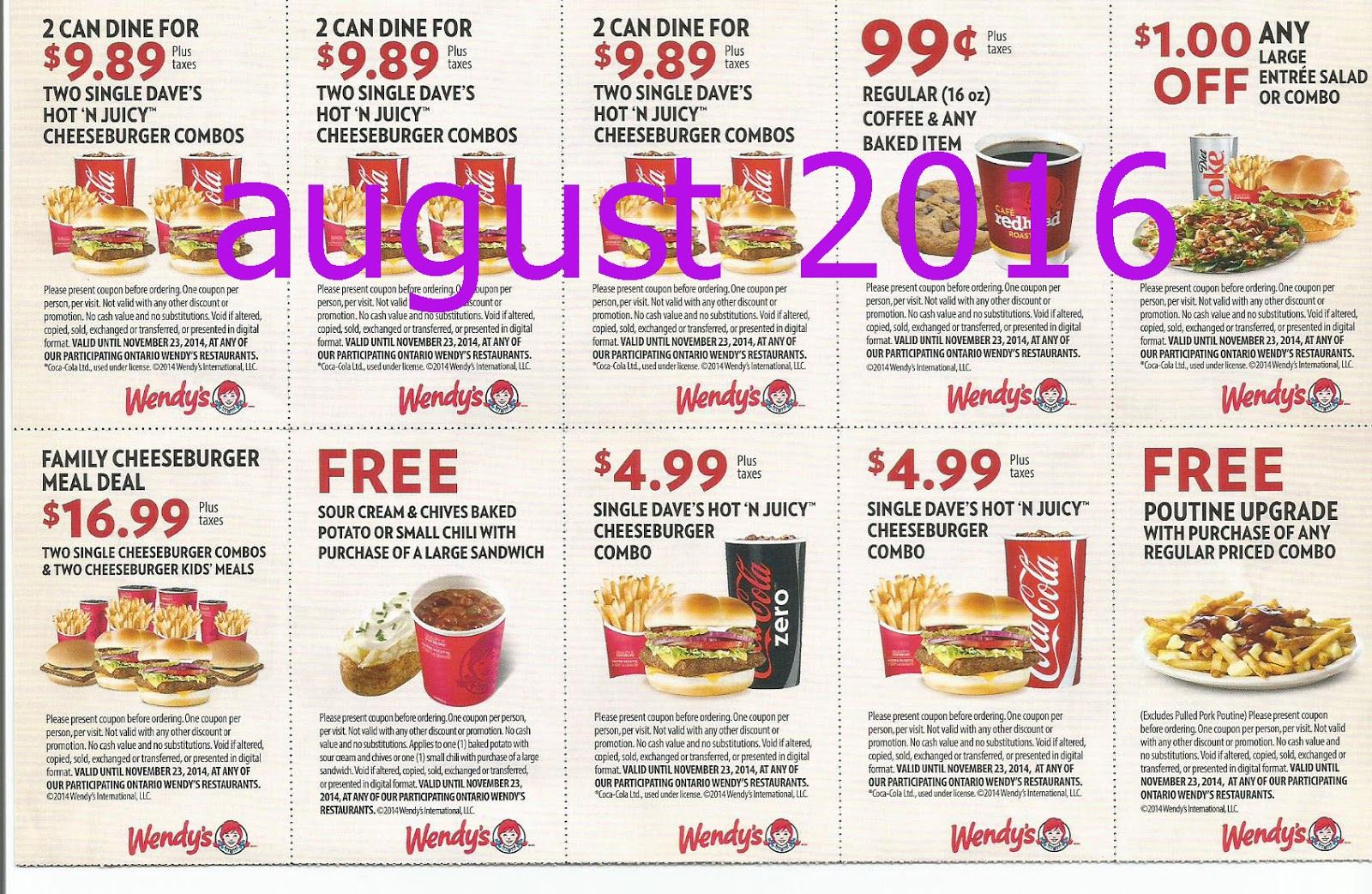 Free Printable Coupons: Wendys Coupons   Fast Food Coupons - Free Printable Coupons For Food