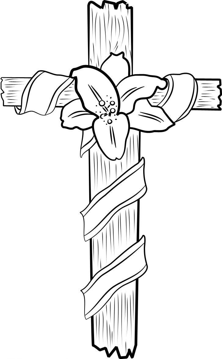 Free Printable Cross Coloring Pages For Kids   Coloriages Zen - Free Printable Cross