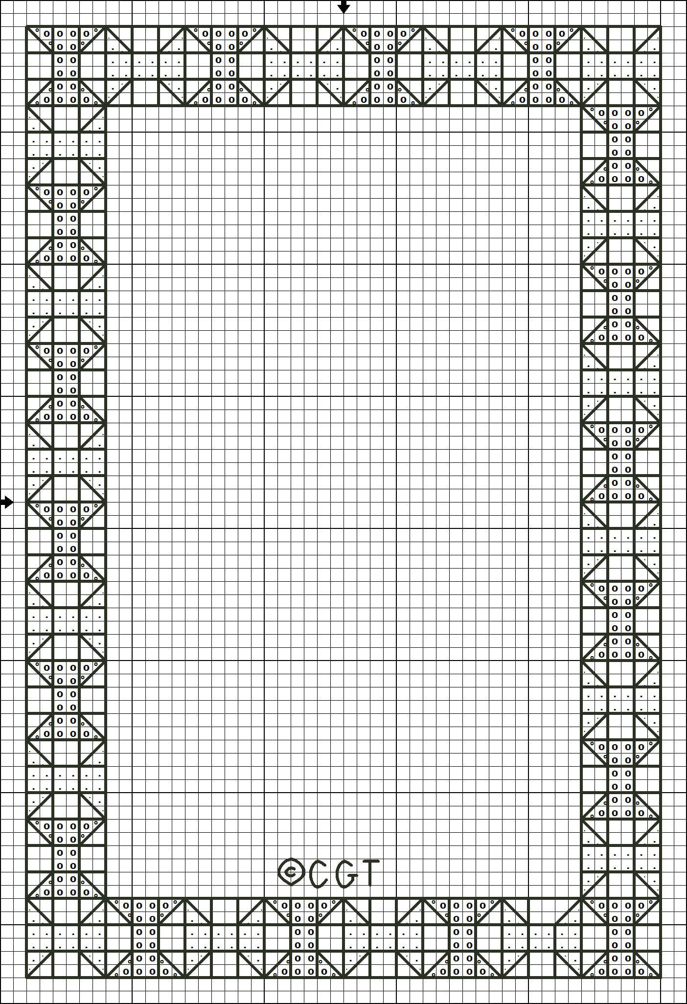 Free Printable Cross Stitch Patterns |  Cross Stitch Border - Free Printable Cross Patterns
