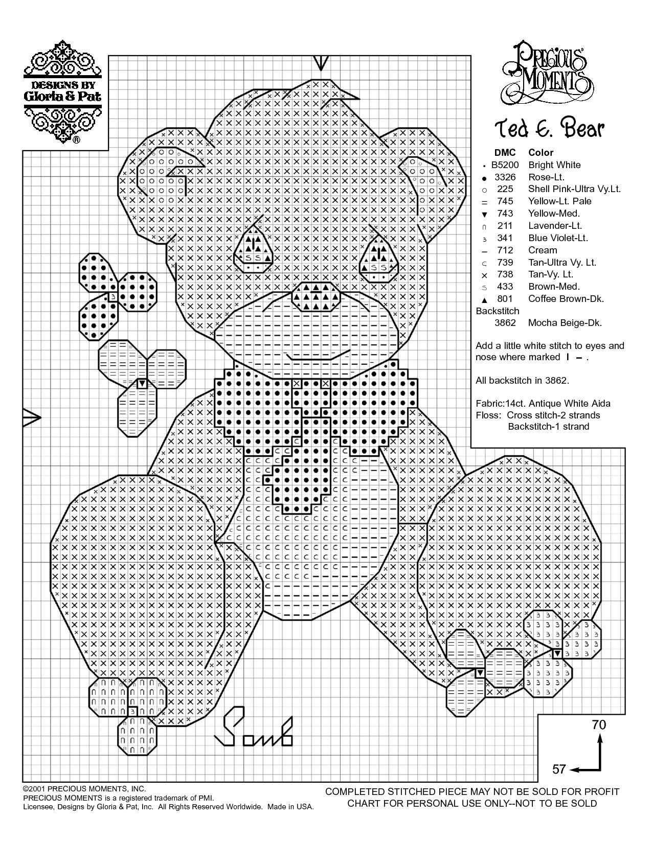 Free Printable Cross Stitch Patterns | Needlework Projects - Free Printable Cross Stitch