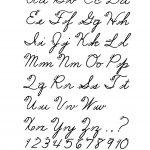 Free Printable Cursive Alphabet Letters | Design: Lettering   Free Printable Old English Letters