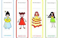 Free Printable Back To School Bookmarks