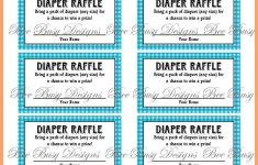 Free Printable Diaper Raffle Tickets For Baby Shower – Baby Shower Ideas – Free Printable Diaper Raffle Tickets For Boy Baby Shower