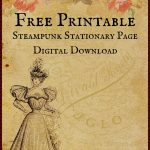 Free Printable Digital Download Stationary Page   Free Printable Stationery