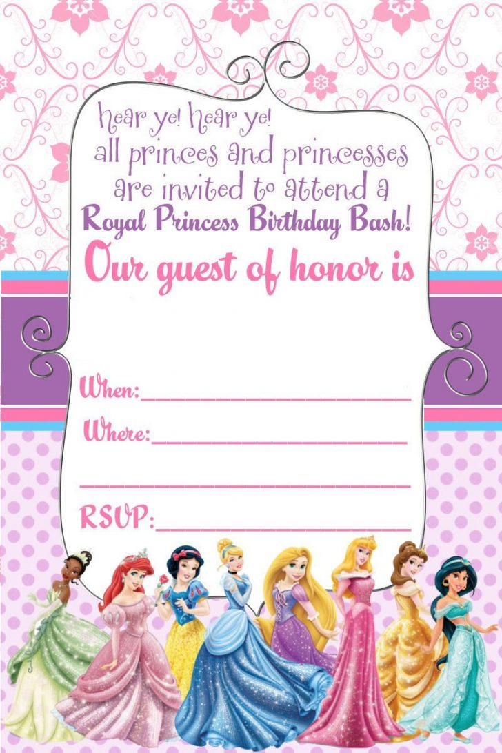 Free Printable Personalized Birthday Invitation Cards