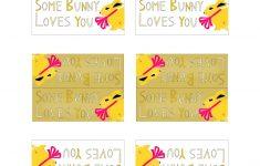 Free Printable Easter Bag Toppers - Ausdruckbare Osteretiketten - Free Printable Bag Toppers