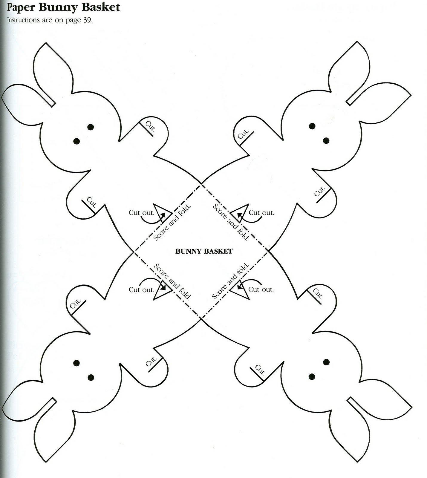 Free Printable Easter Basket Templates – Hd Easter Images - Free Printable Easter Egg Basket Templates