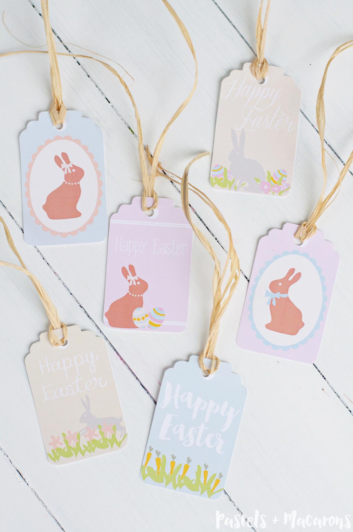 Free Printable Easter Gift Tags - Free Printable Easter Tags