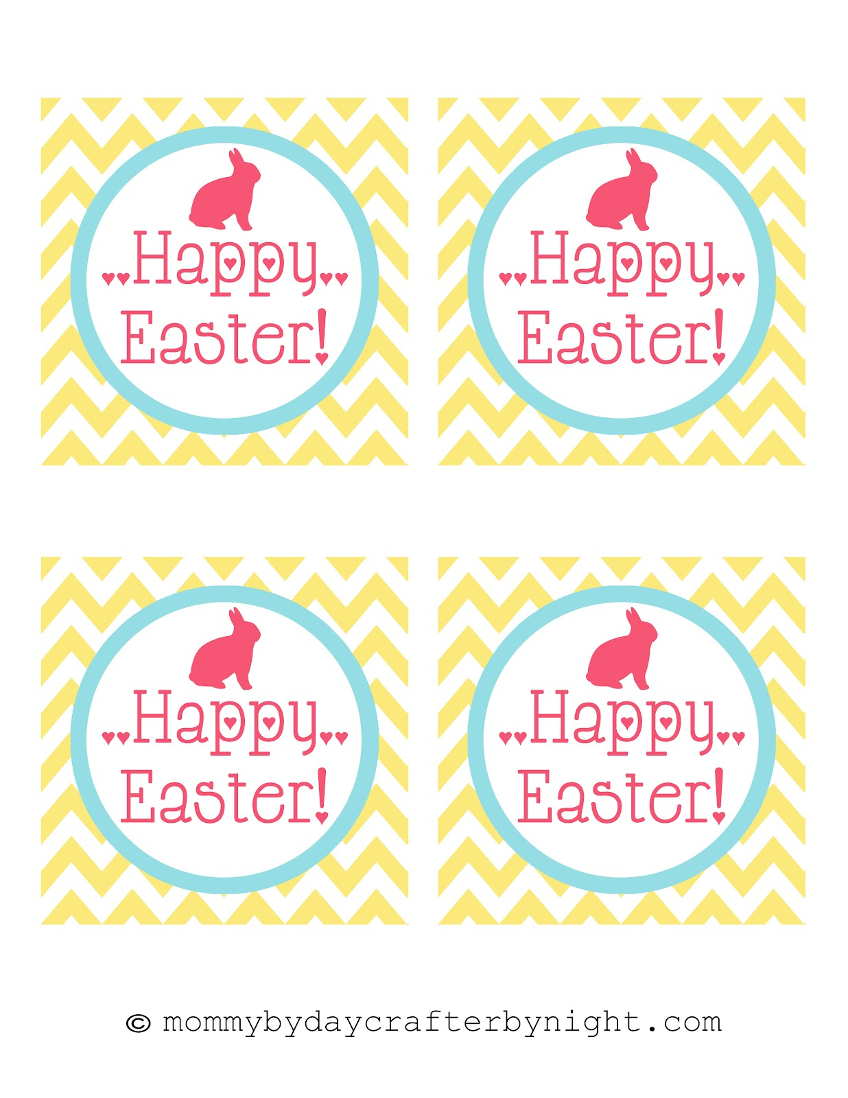 Free Printable Easter Tags – Hd Easter Images - Free Printable Easter Tags