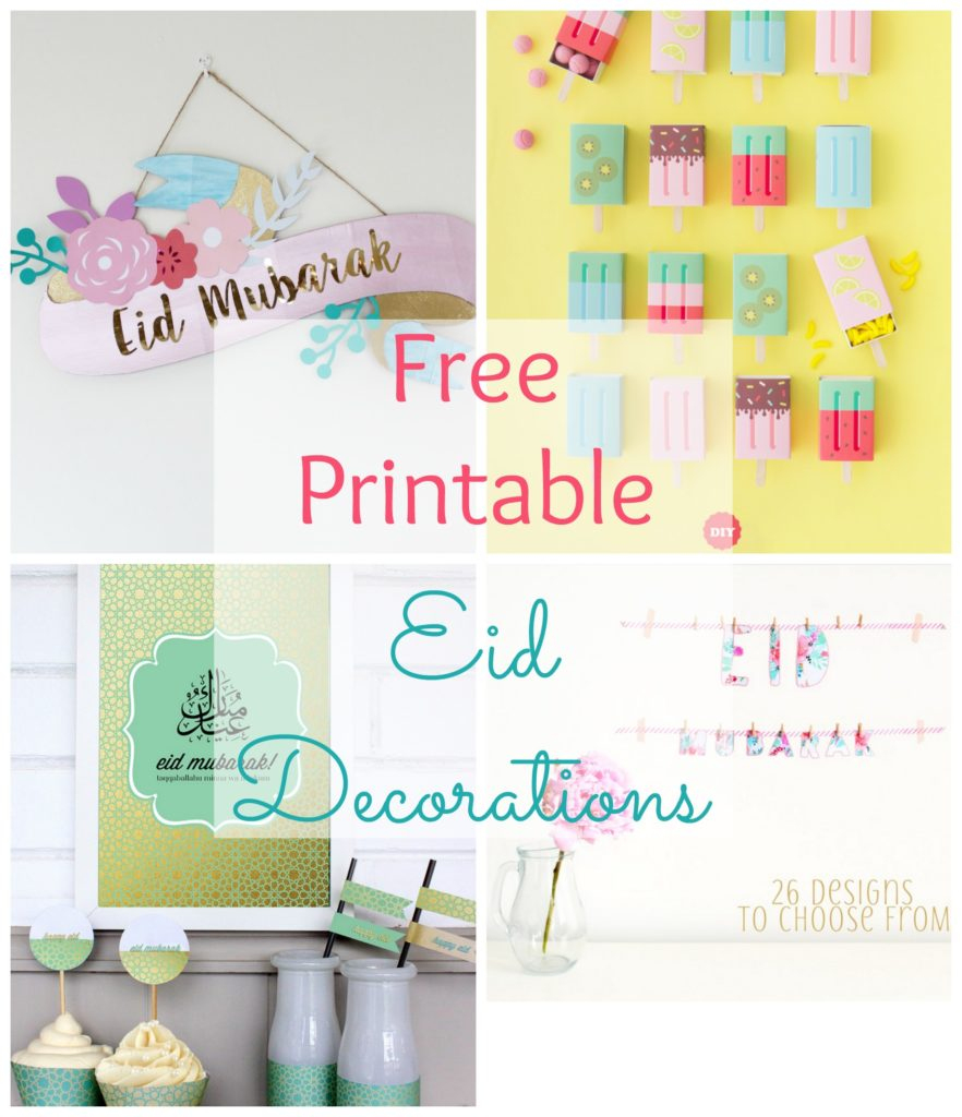 Free Printable Eid Decorations | The Muslimah Guide - Free Printable Decor