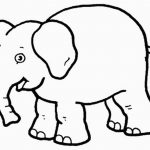 Free Printable Elephant Coloring Pages For Kids For Elephant – Free Printable Elephant Pictures