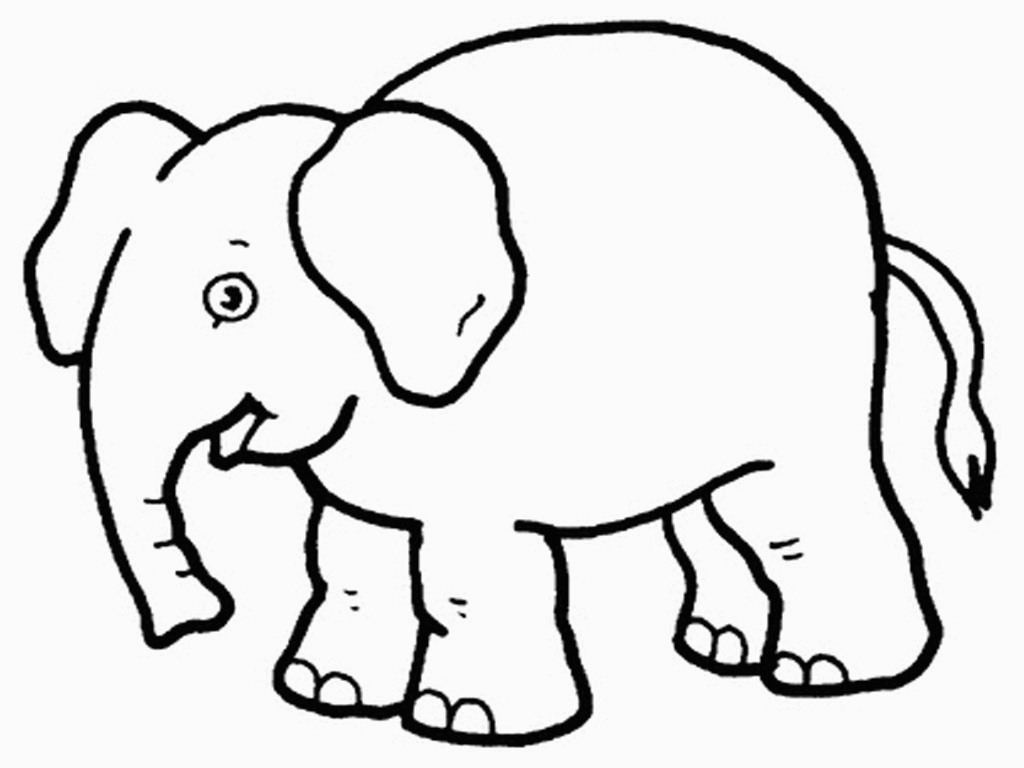 Free Printable Elephant Coloring Pages For Kids For Elephant - Free Printable Elephant Pictures