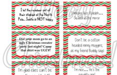 Free Printable Elf On The Shelf Notes