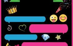Free Printable Emoji Chat Invitation | Q Party | Pinterest | Free - Emoji Invitations Printable Free