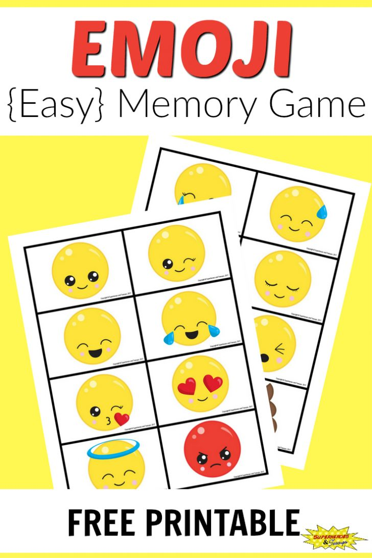Free Printable Matching Cards