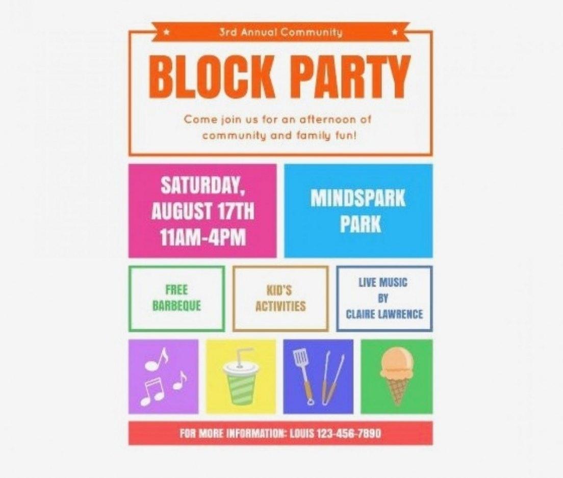 Free Printable Event Flyer Templates | Penaime - Free Printable Event Flyer Templates