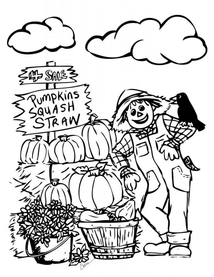 Free Printable Autumn Coloring Sheets