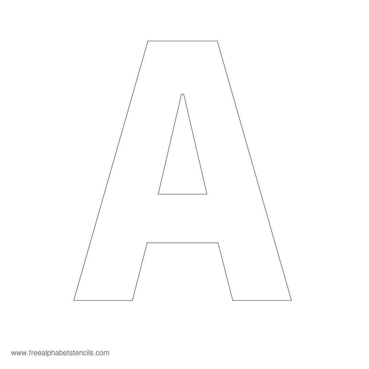 Free Printable Fancy Letters | Free Printable Large Alphabet Letter - Free Printable 8 Inch Letters