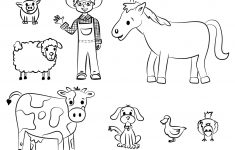Free Printable Farm Animal Coloring Pages For Kids | June | Farm – Free Printable Farm Animal Cutouts