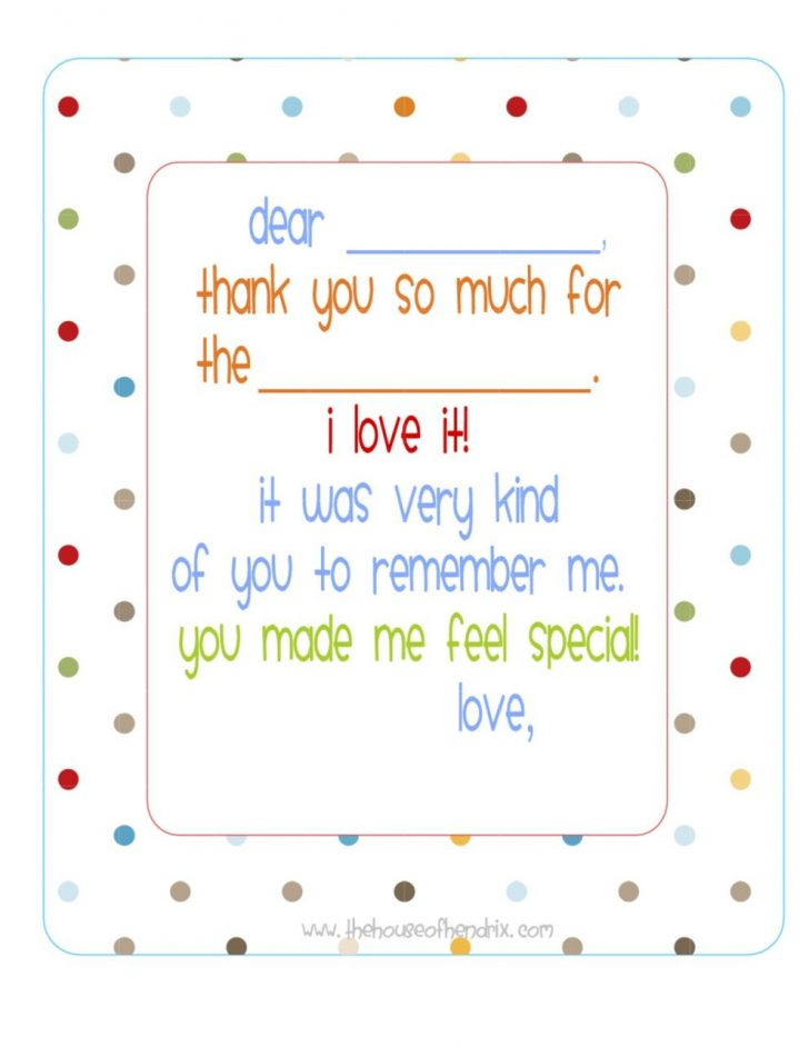 Free Printable Thank You Cards For Soldiers