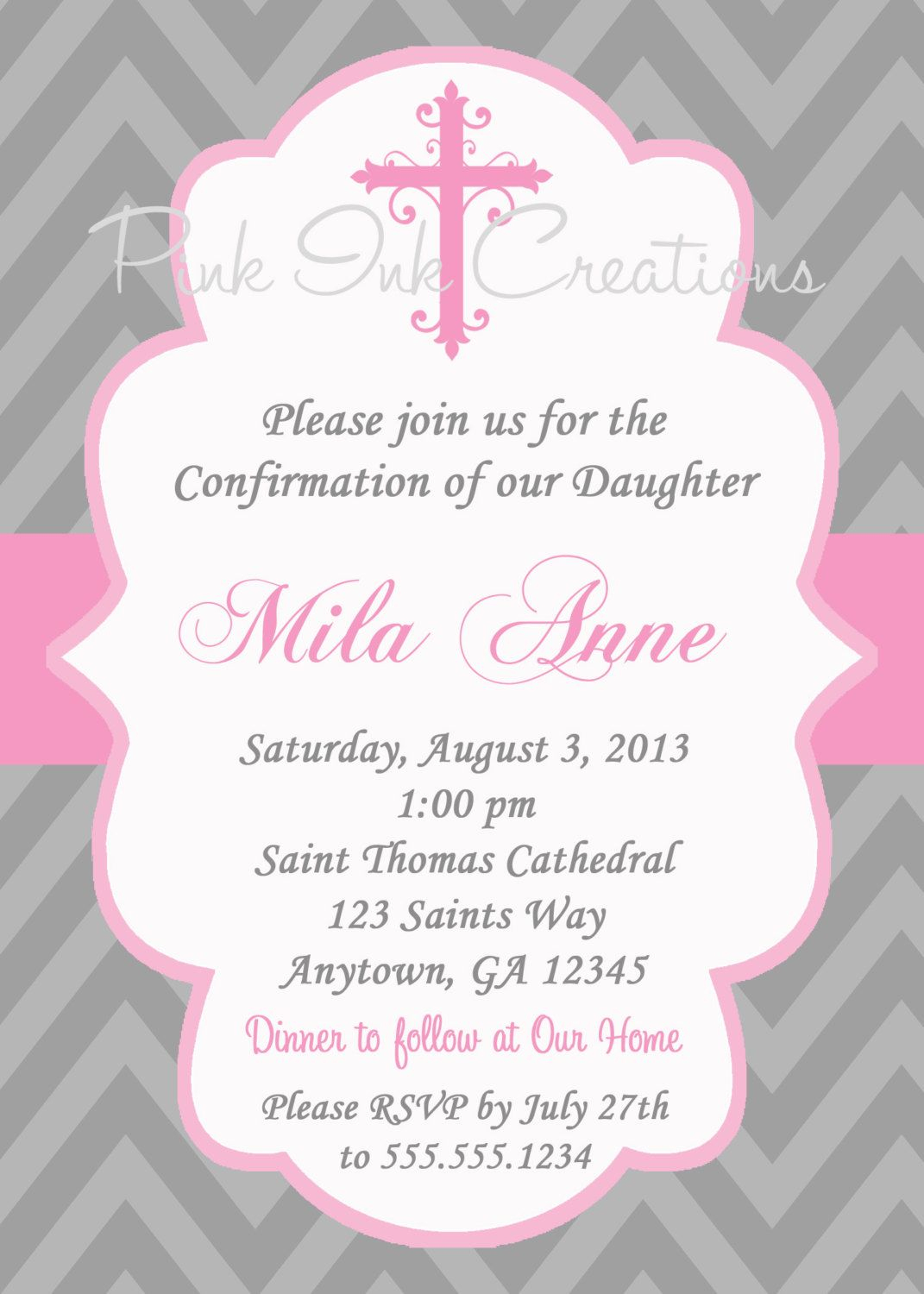 Free Printable First Communion Invitations Free Printable First - Free Printable First Communion Invitation Templates