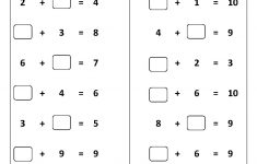 Free Printable First Grade Worksheets, Free Worksheets, Kids Maths – Free Printable Math Addition Worksheets For Kindergarten