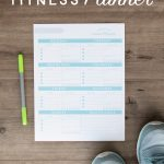 Free Printable Fitness Planner   Free Printable Fitness Planner