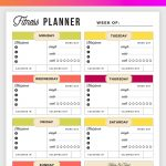 Free Printable Fitness Planner   Meal And Fitness Tracker, Start Today!   Free Printable Fitness Planner