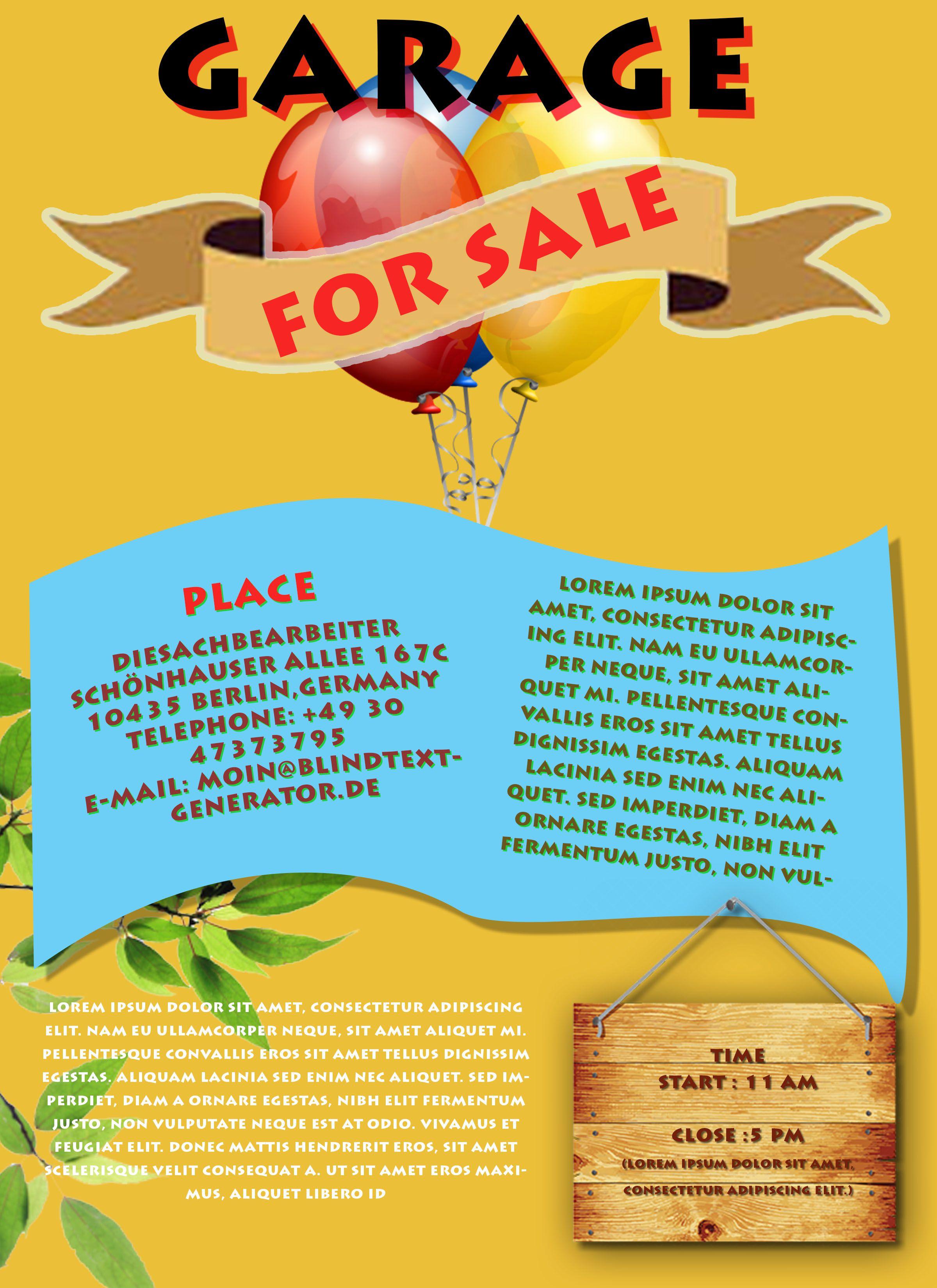 Free Printable Flyer Templates Word - Create Free Printable Flyer