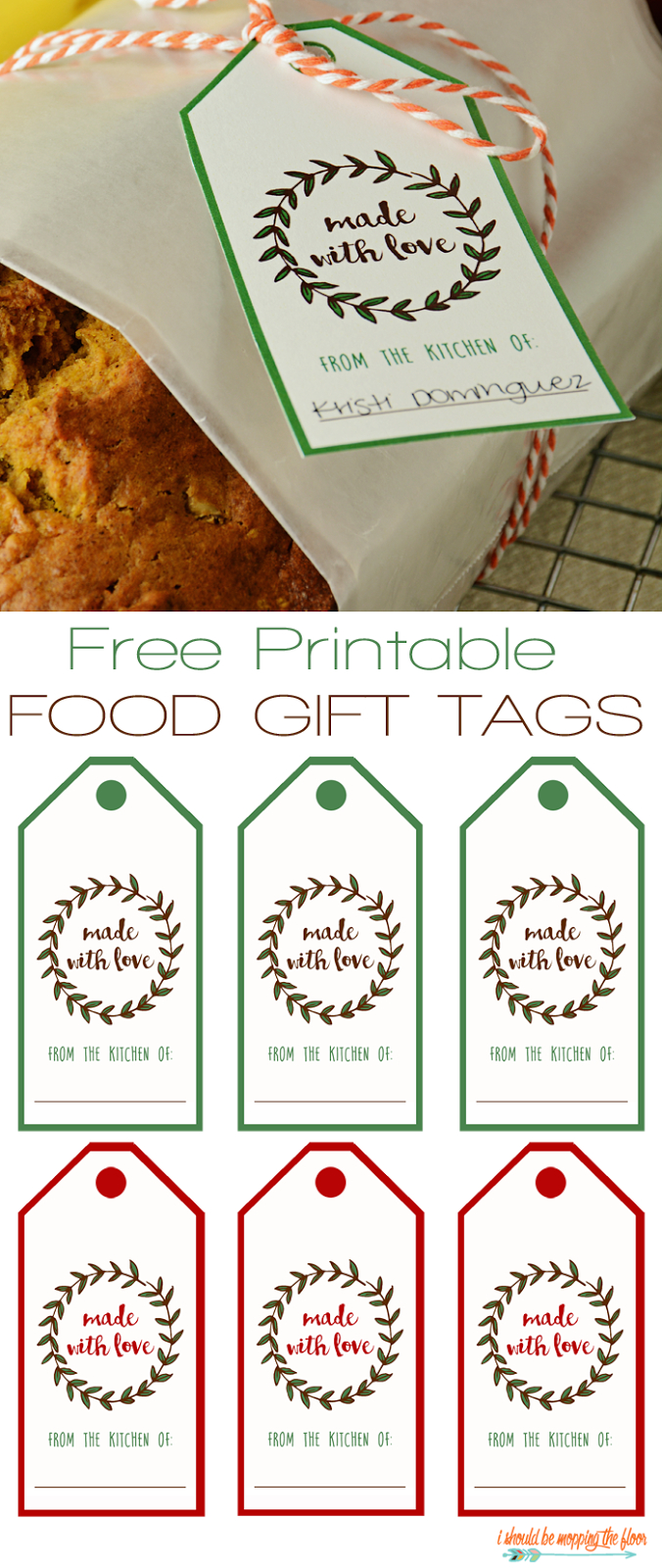 Free Printable Food Gift Tags | Printables | Pinterest | Gift Tags - Free Printable Christmas Food Labels