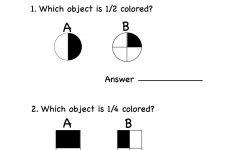 Free Printable Fraction Worksheets