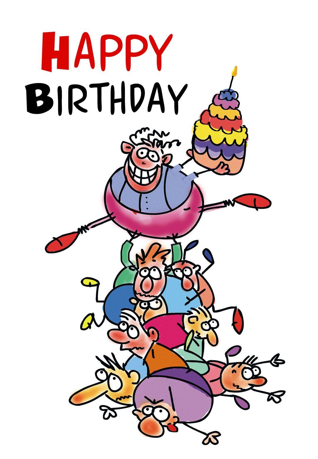 Free Printable Funny Birthday Greeting Card | Gifts To Make | Free - Free Printable Birthday Cards To Color