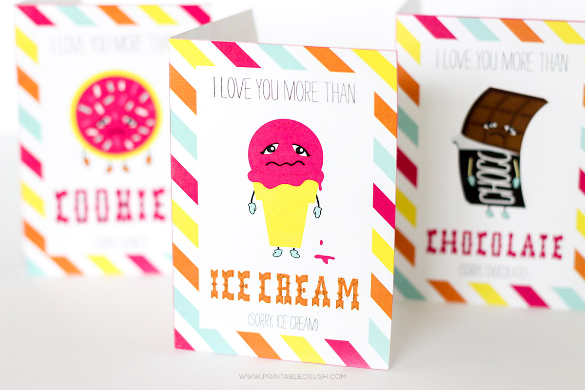 Free Printable Funny Valentine Cards - Printable Crush - Free Printable Valentines Day Cards For Her
