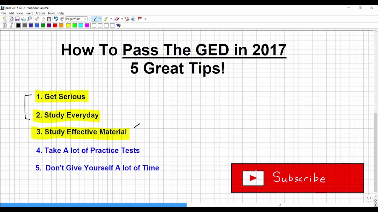 Free Printable Ged Practice Test With Answer Key 2017 | Download - Free Printable Ged Practice Test With Answer Key 2017